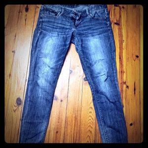 Express 6 short Skinny Jeans